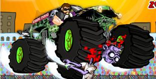 Dev Tekerlekli Zombi Arabası