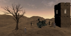 Askerler ve Zombiler 3d
